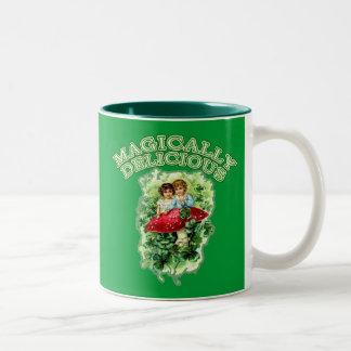 Vintage Artwork Magically Delicious Coffee Mugs