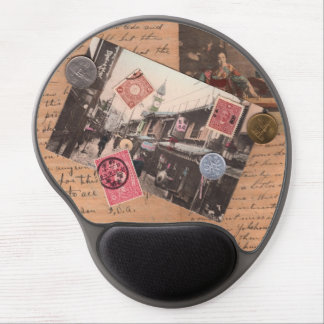 Vintage Asia Gel Mouse Pad