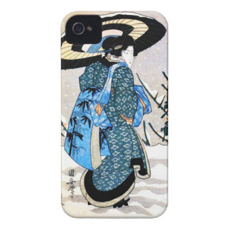Vintage Asian Japanese Art Case Case-Mate iPhone 4 Cases