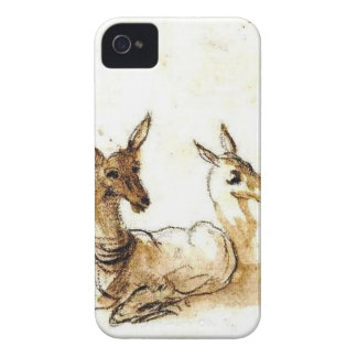 Vintage Asian Japanese Deer Case iPhone 4 Case