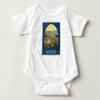 Vintage Assisi Travel Baby Bodysuit