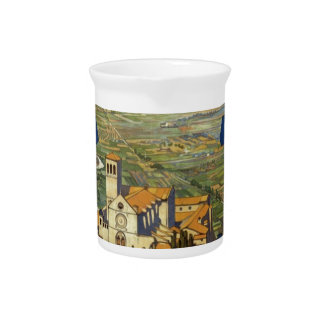 Vintage Assisi Travel Pitcher