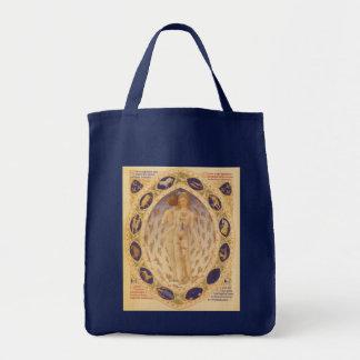 Vintage Astrology, Antique Celestial Zodiac Chart Tote Bag