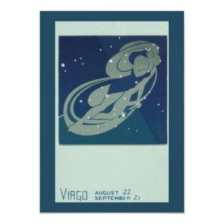 Vintage Astrology, Virgo Constellation, Zodiac Announcements