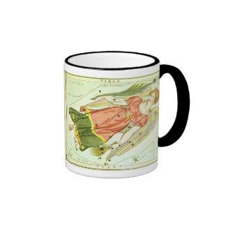 Vintage Astrology Virgo Constellation Zodiac Coffee Mugs