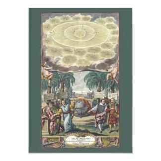 Vintage Astronomy, Celestial, Atlas by Doppelmaier Custom Announcement