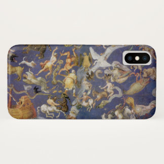 Vintage Astronomy Celestial Fresco, Constellations iPhone X Case