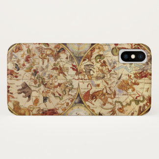 Vintage Astronomy Constellations, Frederik de Wit iPhone X Case