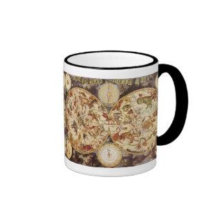 Vintage Astronomy Constellations, Frederik de Wit Ringer Mug