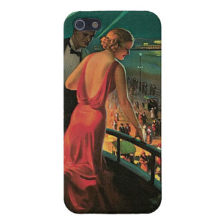 Vintage Atlantic City Case Case For The iPhone 5