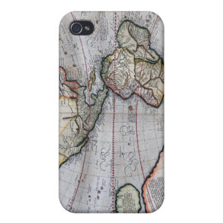 Vintage Atlas World Map iPhone 4/4S Case