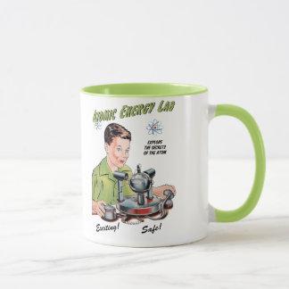 Vintage Atomic Energy Lab Toy Mug