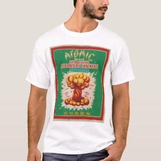 Vintage Atomic Firecracker Label T-Shirt