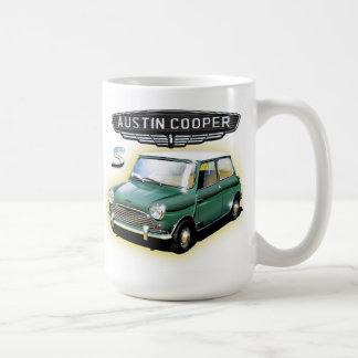 Vintage Austin  Cooper  painting Coffee Mug