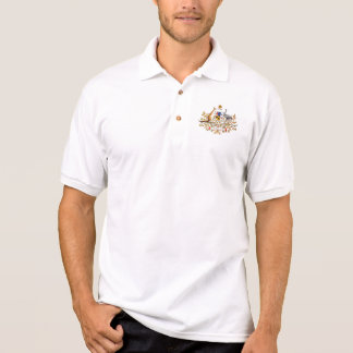 Vintage Australian Coat of Arms Polo Shirt