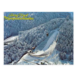 Vintage Austria, Berg Isel, Olympic Ski Jump, Postcard