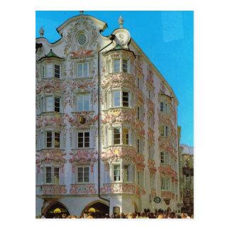 Vintage Austria, Innsbruck, Heblinghaus Postcard