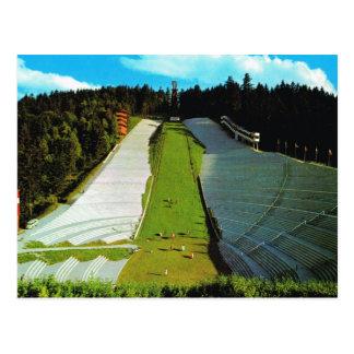 Vintage Austria, Innsbruck Olympic Ski jump Postcard