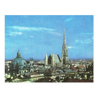 Vintage  AUstria Vienna, Cathedral of St Stephen Postcard