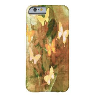Vintage Autumn Painterly Butterflies iPhone 6 Case