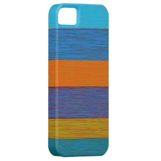 Vintage autumn stripes barely there iPhone 5 case