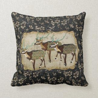 Vintage Axis Deer MoJo Pillow