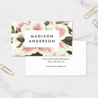 Vintage Azalea Business Cards