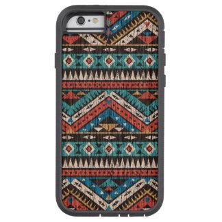 Vintage Aztec Pattern Tough Xtreme iPhone 6 Case