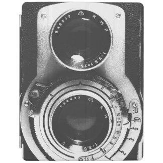 Vintage b&w Camera iPad Cover