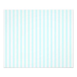 Vintage Baby Blue Pastel Colors Stripes Pattern Photo Art