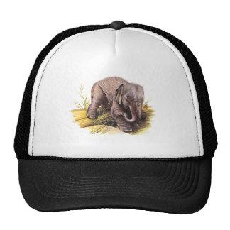Vintage Baby Elephant Cap