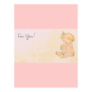 Vintage Baby Girl Post Cards