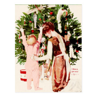 VINTAGE BABY'S FIRST CHRISTMAS POST CARDS