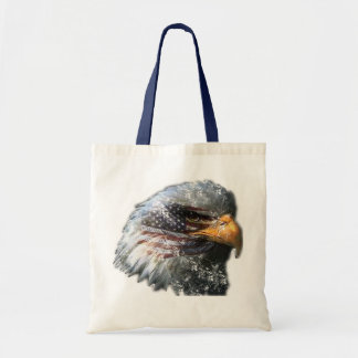 Vintage Bald eagle bag
