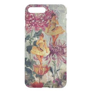 Vintage Ballerina Dancer Floral Painting iPhone 7 Plus Case