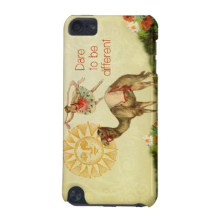 Vintage Ballerina, Flowers, and Camel Collage iPod Touch 5G Covers