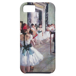 Vintage Ballet, The Dance Class by Edgar Degas Tough iPhone 5 Case