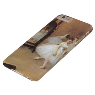 Vintage Ballet, The Dancing Class by Edgar Degas Barely There iPhone 6 Plus Case