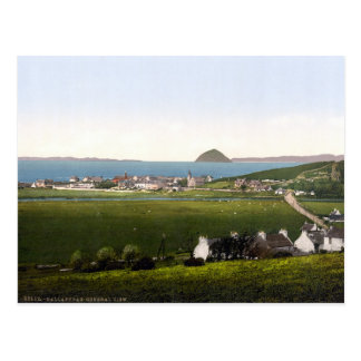 Vintage Ballintrae, Scotland scenery Postcard