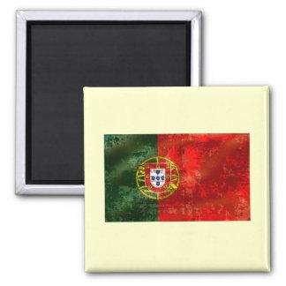 Vintage Bandeira Portuguesa por Fás de Portugal Magnet
