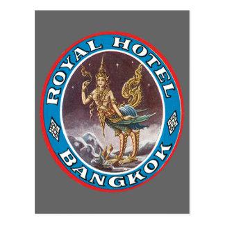 Vintage Bangkok Thailand Postcard