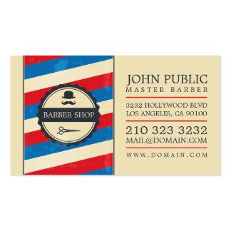 Vintage Barber Shop Pack Of Standard Business Cards