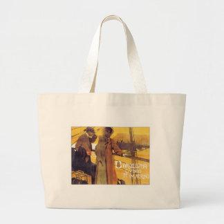 Vintage Barcelona Ciudad Canvas Bag