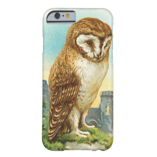 Vintage Barn Owl Barely There iPhone 6 Case