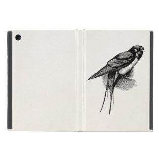 Vintage Barn Swallow Swift Bird Illustration iPad Mini Case