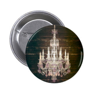 vintage barnwood purple chandelier paris fashion 6 cm round badge
