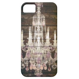 vintage barnwood purple chandelier paris fashion case for the iPhone 5