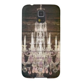 vintage barnwood purple chandelier paris fashion cases for galaxy s5