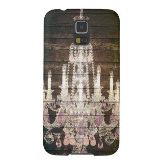 vintage barnwood purple chandelier paris fashion cases for galaxy s5