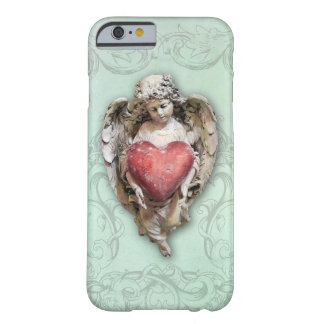 Vintage Baroque Cherub with Heart Barely There iPhone 6 Case